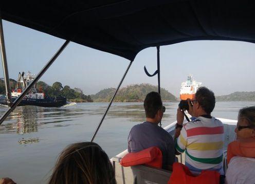 Panama Canal full day tour, train station and Monkey Island. Ciudad de Panama, Panama