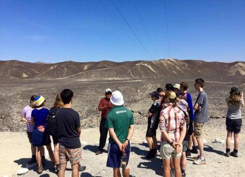 Complete Nazca Language Experience. Nazca, PERU