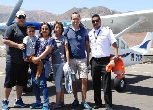 Vuelo Premium sobre las Lineas de Nasca . Nazca, PERU