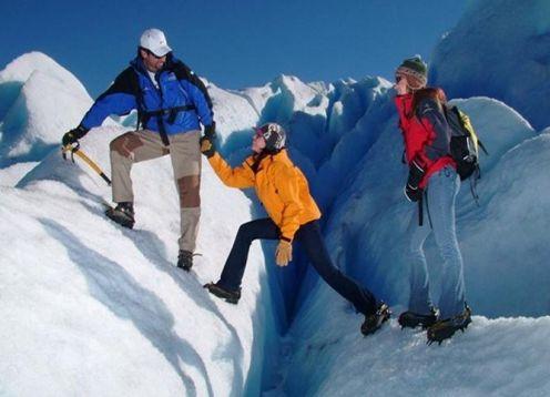 Minitreking sobre el Glaciar Moreno. El Calafate, ARGENTINA