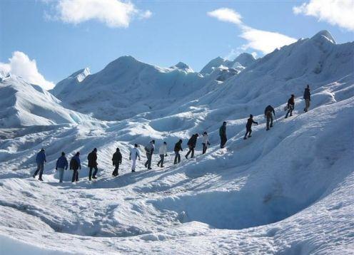 Excursión de día completo de senderismo al glaciar Perito Moreno. El Calafate, ARGENTINA