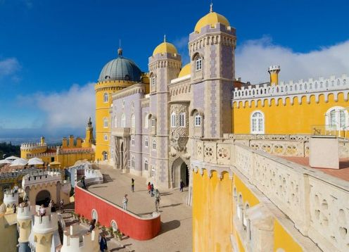 Full day tour to Sintra, Cascais and Estoril. Lisbon, PORTUGAL