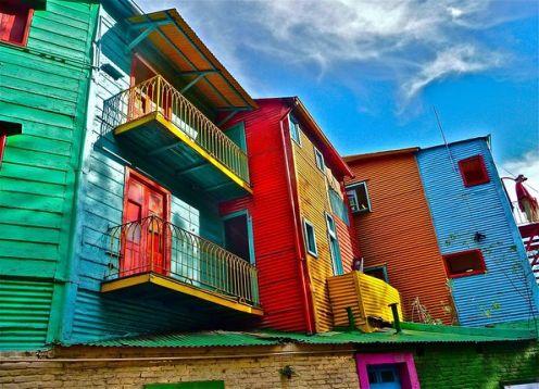 Visita turística a Buenos Aires. Buenos Aires, ARGENTINA