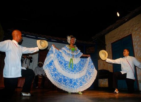 Folklore show and dinner in Panama City. Ciudad de Panama, Panama