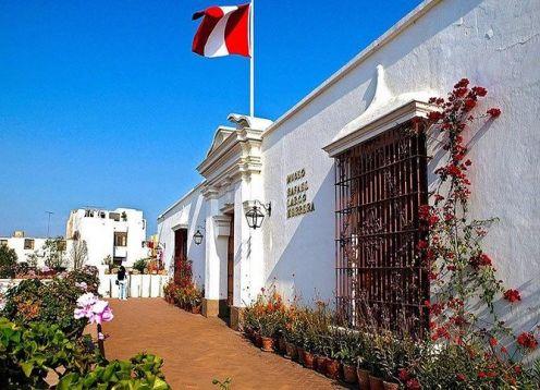 Visita ao Museu Larco em Lima. Lima, PERU
