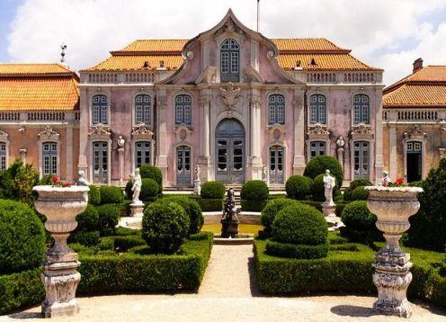 Ingresso sem fila para o Palácio Nacional e os Jardins de Queluz. Lisboa, PORTUGAL