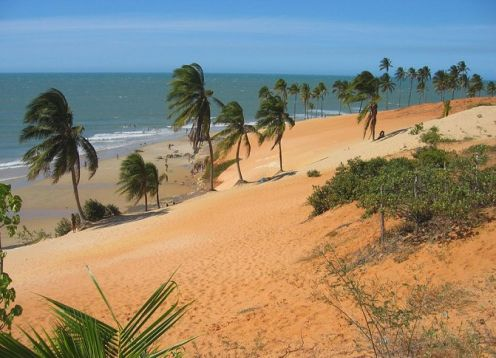 Lagoinha Beach Excursion. Fortaleza, BRAZIL