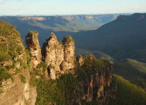 Full day excursion to Blue Mountains from Sydney. Sidney, AUSTRALIA