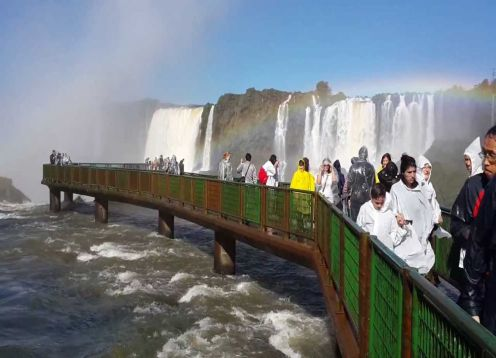 Iguazu Falls - Brazilian Side. Puerto Iguazu, ARGENTINA