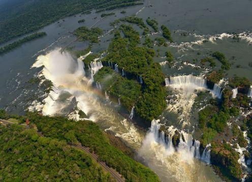 Iguazu Falls - Argentine Side. Puerto Iguazu, ARGENTINA