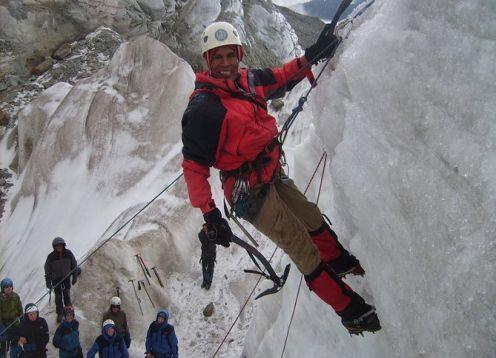 Full-Day Ice Climbing in La Paz. La Paz, BOLIVIA