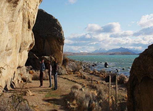 Punta Walichu y Glaciarium. El Calafate, ARGENTINA