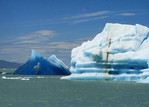 El Chalten whit navegation to Glacier Viedma Light y alzo. El Calafate, ARGENTINA