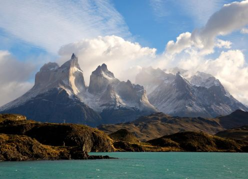 Full day tour to Torres del Paine Park with Navigation to Gray Glacier. Puerto Natales, CHILE