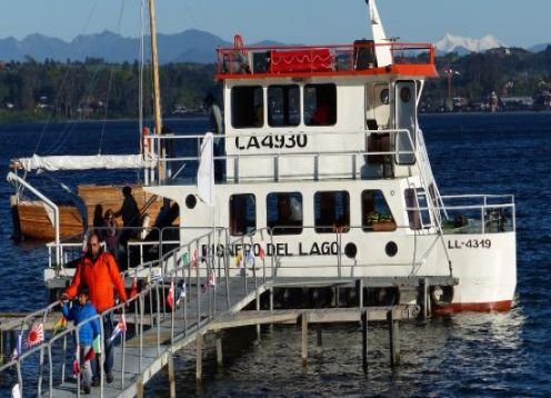 Walking City + Navegacion lago Llanquihue