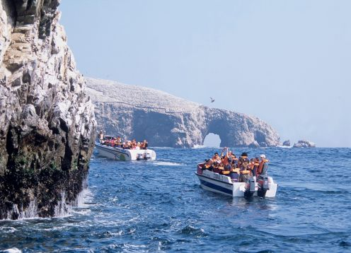 Tour to the Ballestas Islands. Paracas, PERU