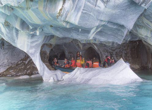Capelas de mármore. Coyhaique, CHILE