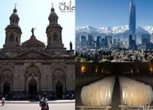 CITY TOUR SANTIAGO + TOUR DEL VINO CONCHA Y TORO +  VALPARAISO Y VINA DEL MAR. Santiago, CHILE