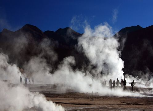 EXCURSION A LOS GEYSER DEL TATIO Y VILLA MACHUCA. ,