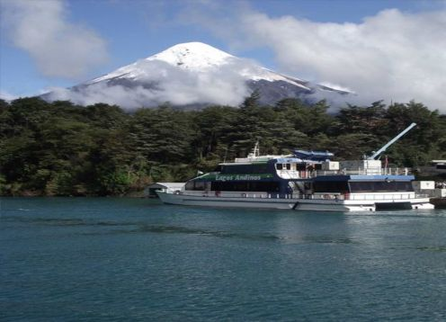 TRANSFER IN + PEULLA  NAVEGATION + TOUR TO CHILOE + TRANSFER OUT. Puerto Varas, CHILE