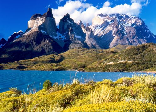 Full day tour to Torres del Paine National Park. Puerto Natales, CHILE