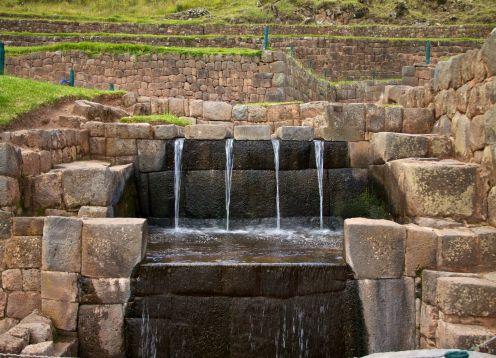 TIP�N, PIKILLAQTA AND ANDAHUAYLILLAS. Cusco, PERU