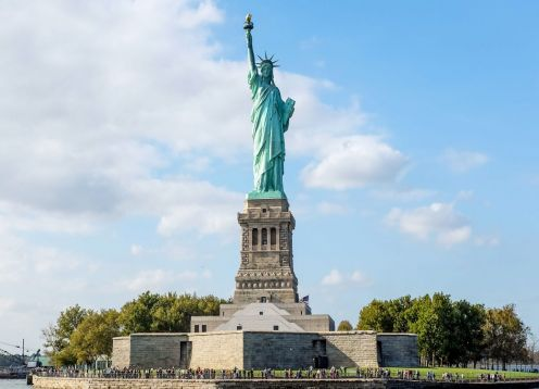 Tour to the Statue of Liberty and Ellis Island. New York, NY, UNITED STATES