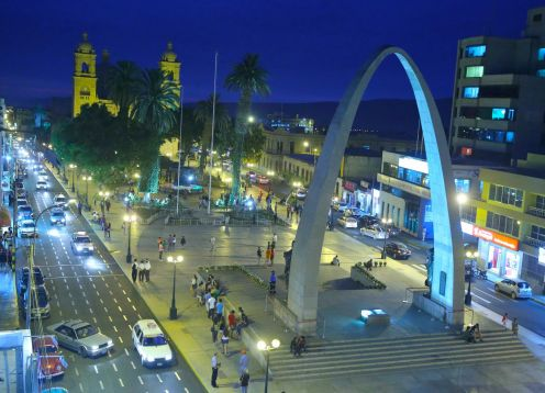 CITY TOUR TACNA, PERU. Arica, CHILE