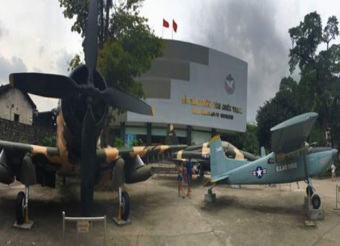 War Remnants Museum, City Tour and War Tunnels. Ho Chi Minh, Vietnam