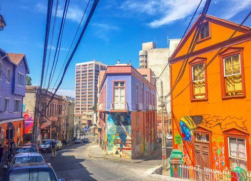 Transfer para Santiago e Tour para Valparaiso e Viña del Mar. San Antonio, CHILE