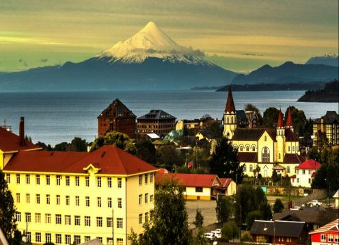 City Tour a pie + Speedboat Puerto Varas
