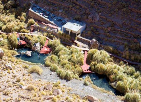 TERMAS DE PURITAMA ( solo transporte) . San Pedro de Atacama, CHILE