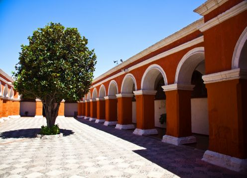 CITY TOUR AND SANTA CATALINA MONASTERY. Arequipa, PERU