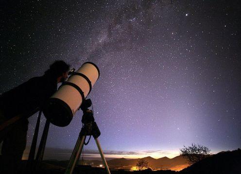 Visita Observatorio Collowara. La Serena, CHILE