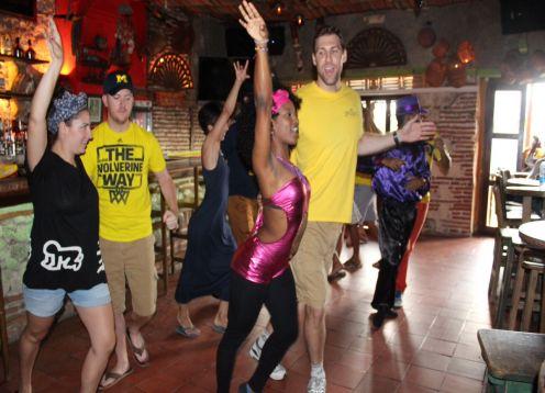 Salsa Tour. Cartagena de Indias, COLOMBIA