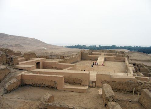 Temple of Pachacamac. Lima, PERU