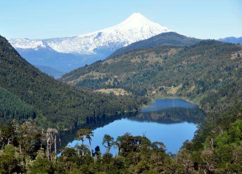 OJOS DEL CABURGUA + TERMAS. Pucon, CHILE