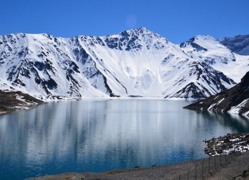 TOUR THROUGH THE ANDES, EMBALSE DEL YESO. Santiago, CHILE