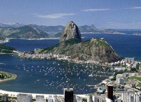 Sugar Loaf Mountain Half-Day Tour in Rio de Janeiro. Rio de Janeiro, BRAZIL