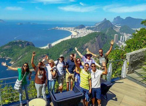 Tour de meio dia para visitar o Cristo Redentor e o Pão de Açúcar. Rio de Janeiro, BRASIL