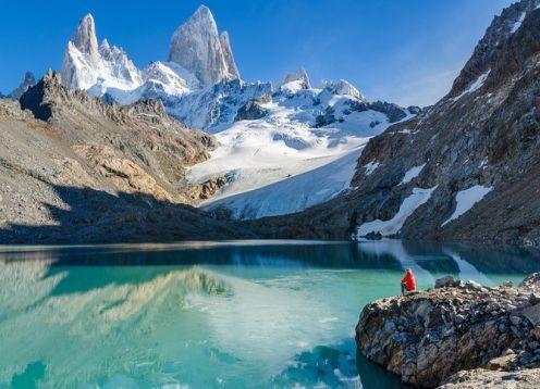 2 días de aventura en Chaltén: Laguna de los Tres, Monte Fitz Roy y Cerro Torre. El Chalten, ARGENTINA