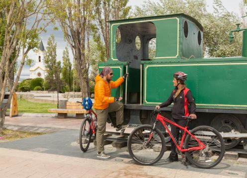City Tour Puerto Natales by Bicycle. Puerto Natales, CHILE