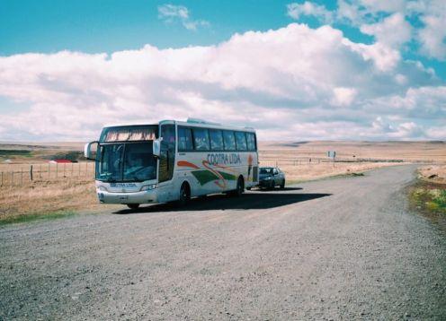 Transfer desde El Calafate a Puerto Natales. El Calafate, ARGENTINA