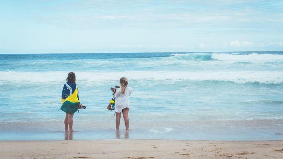 Excursión a las playas del sur de Florianópolis. Florianopolis, BRASIL