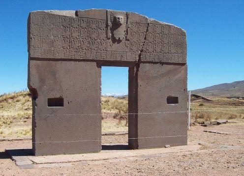 Ruinas de Tiwanaku y Puma Punku . La Paz, BOLIVIA