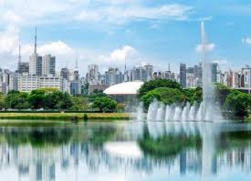 Ibira Walking Tour. Sao Paulo, BRAZIL