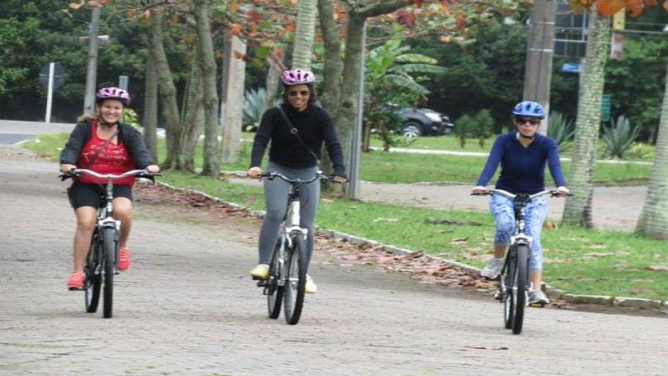 Tour en bicicleta por Norte de Florianópolis: Mozambique, Santinho y playa Ingleses. Florianopolis, BRASIL