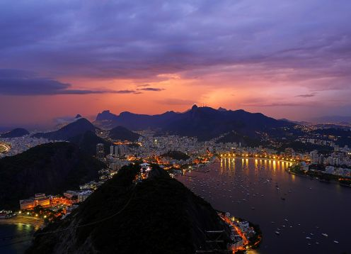 A Day in Rio - Corcovado, Pan de Az�car, Maracan�, Samb�dromo and Selar�n with Lunch. Rio de Janeiro, BRAZIL