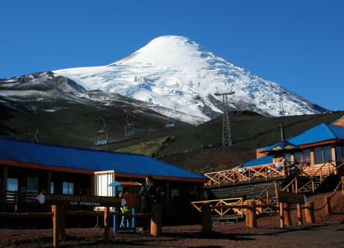 Osorno Volcano Tour and visit to craft brewery. Puerto Varas, CHILE