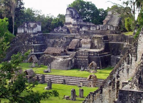 Visit to Tikal with airplanes included. Guatemala city, Guatemala